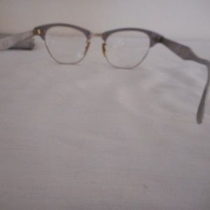 01ee437b70 Artcraft Accessories - Vintage Artcraft Cat Eye round Aluminum Eyeglasses